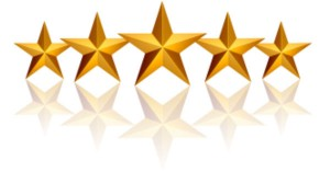 5 Star reviews testimonials