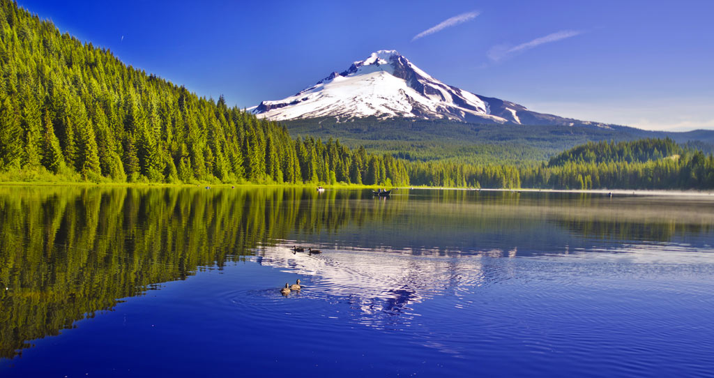 eautiful-view-of-Trillium-lake-oregon